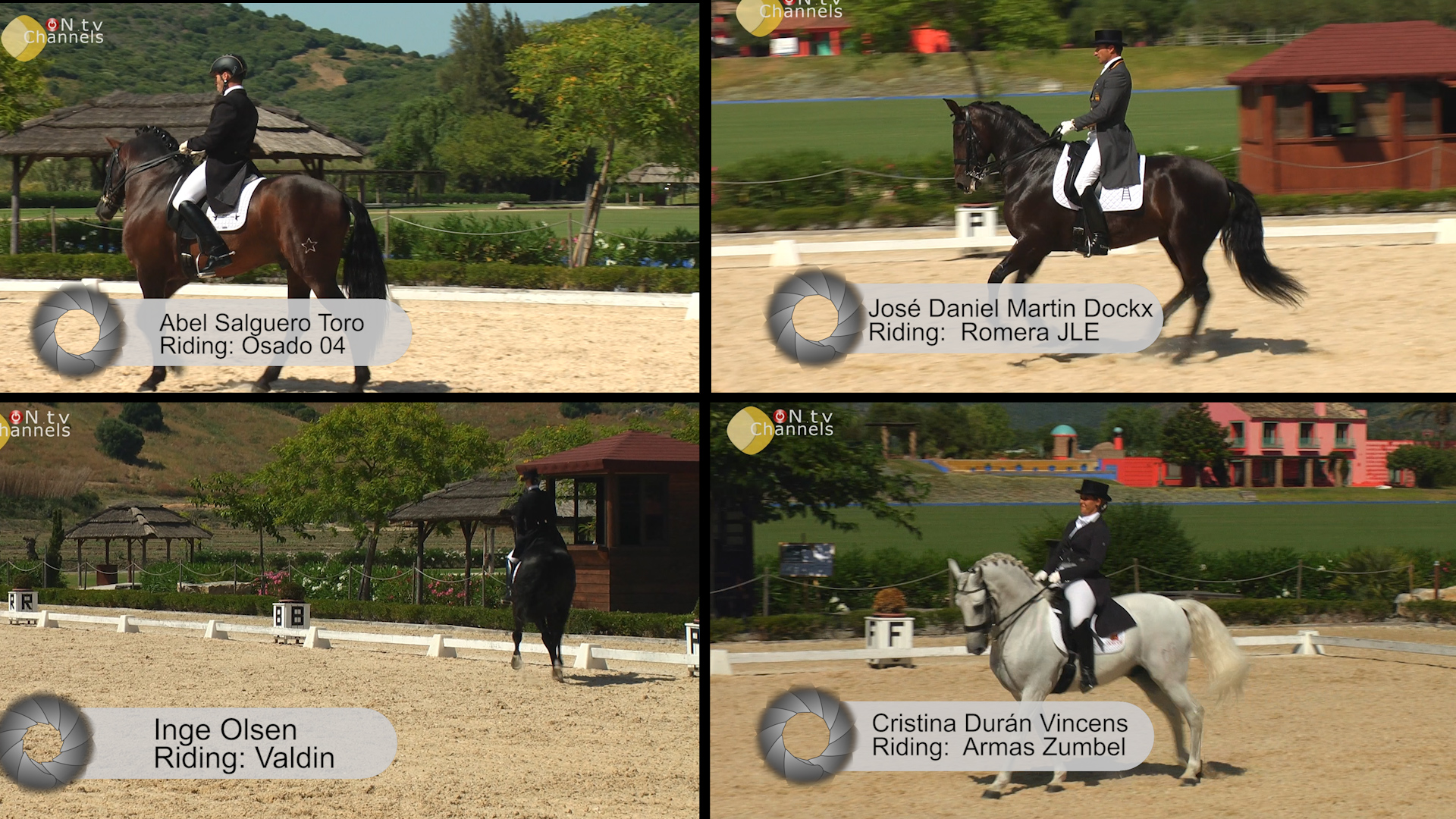Dos Lunas Dressage Competition – Sotogrande, Spain – June 2013