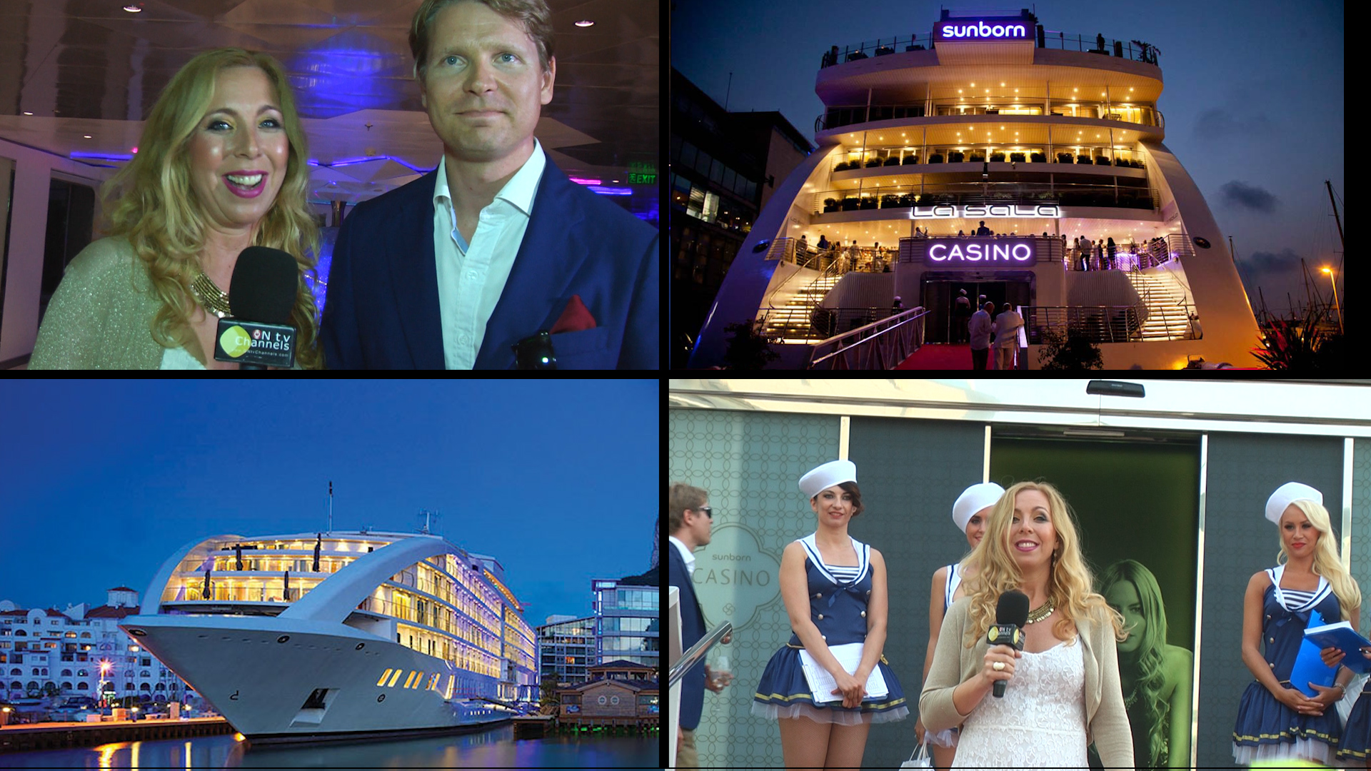La Sala Gibraltar  Launch Party – Sunborn Yacht Hotel